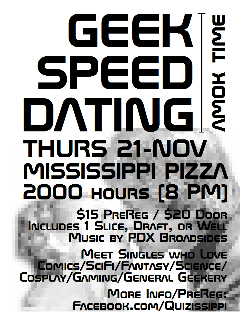 Geek speed dating meme